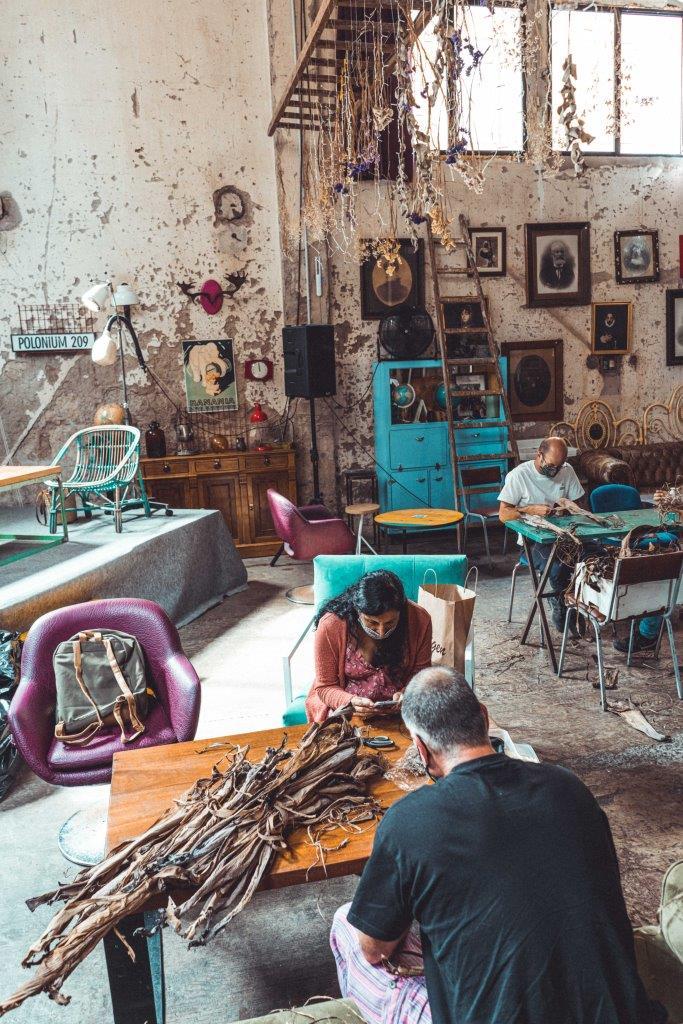espacio para talleres creativos